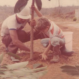 Samuel Quiñonez y Fabián Ortega A - 1982.