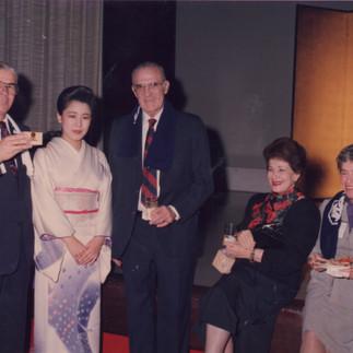 12º Conferencia Mundial de Orquídeas en Tokio, Japón 1987. Ceremonia inaugural.