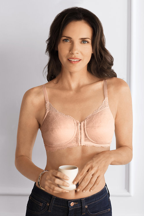 Ellen Non Wired Bra - Rose Nude