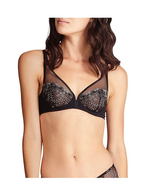 Delice Plunge Underwire Bra - Moonlight