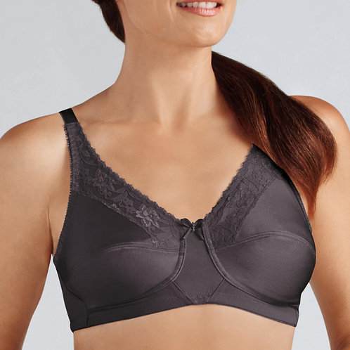 Nancy Soft Bra -Dark Grey