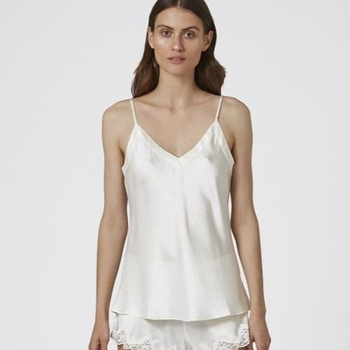 Silk V Neck Cami
