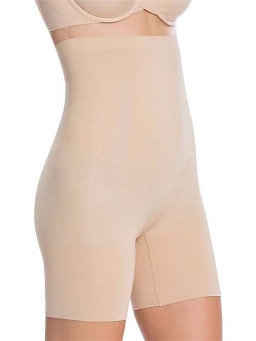 Oncore High-Waisted Mid Thigh - Nude