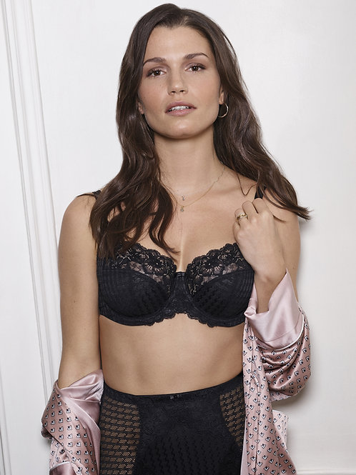 Panache Envy Full Cup UW Stretch Lace - Black