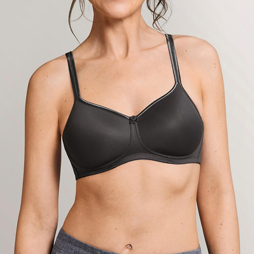Mara Wire Free T-Shirt Bra - Dark Grey