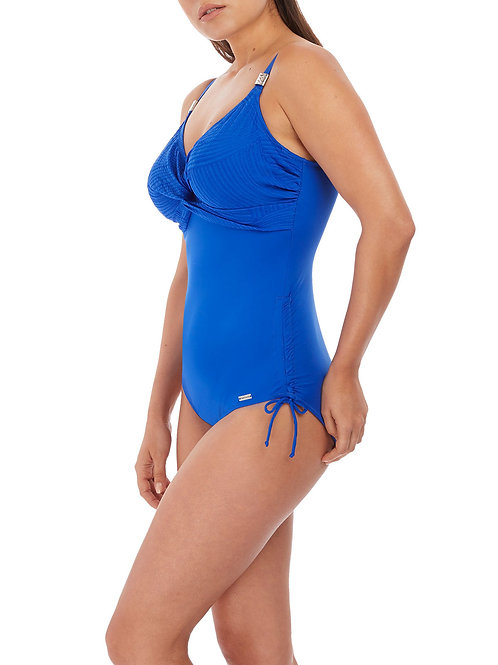 Ottawa UW Twist Front Swimsuit - Pacific