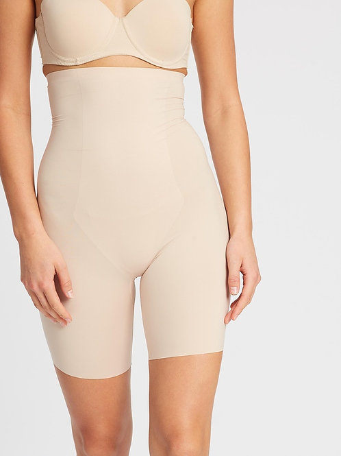 Thinstincts High Waisted Mid Thigh Short -Nude