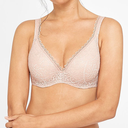 Barely There Lace Contour - Nude Lace