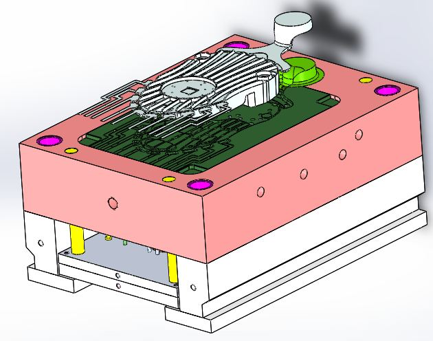 CAD Molde die casting