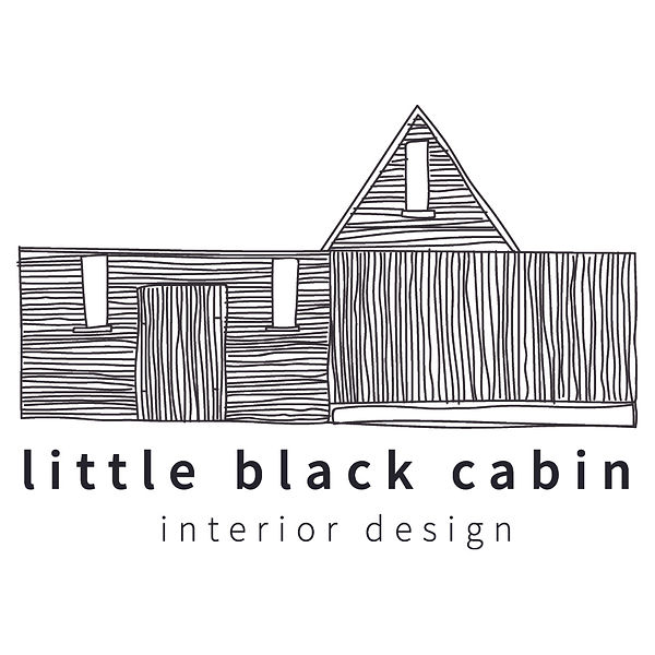 Little Black Cabin Logo_interior design.