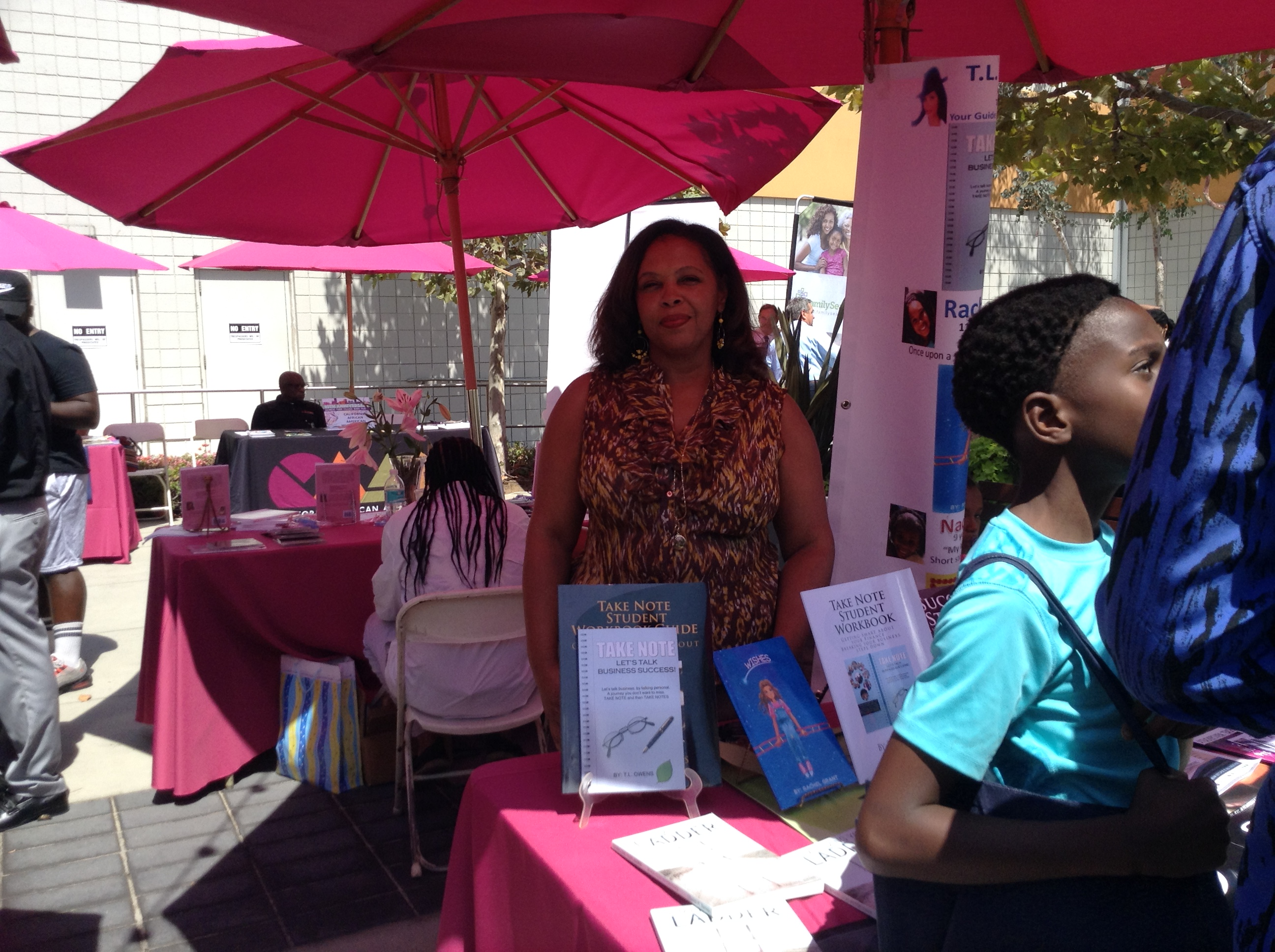 12 Baldwin Hills Leimert Park Book Fair Treasure Owens