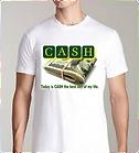Cash t shirt image by Reginald Grant WHI