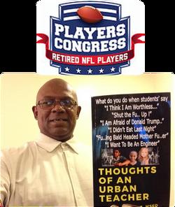 Reginald Grant at NFL Players Congress event w book 012918 2