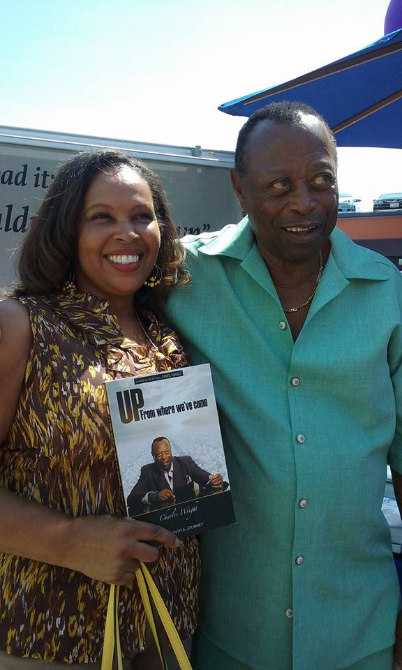 8 baldwin Hills Book Fair treasure Owens with Charles Wright