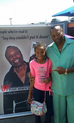 6 baldwin Hills Book Fair Naomi with Charles Wright