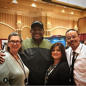 Dr Olah Derek Kennard NFL alumni, Tj and