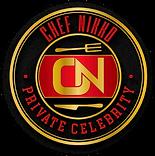 Chef Nikko logo 062620 Black Round.png