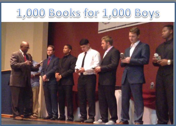 1,000 books for 1000 Boys