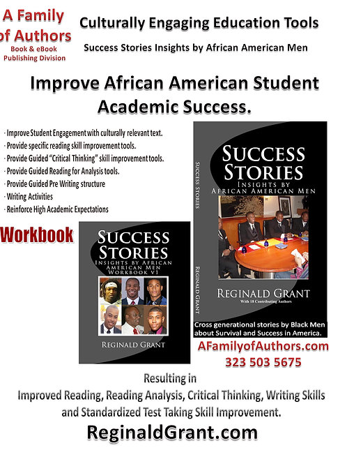 Success Stories Insights by African American Men Academic Set