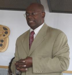 Reginald Grant speaking