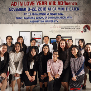 AD IN LOVE VIII: ADFLUENZA