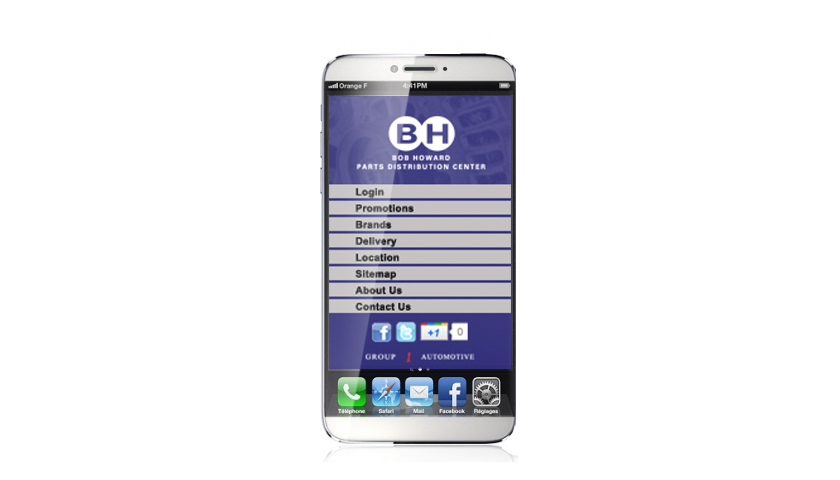 Bob Howard PDC mobile application