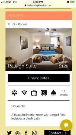 Ballard's Bed & Breakfast Suite