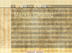 Marvin catalog redesign