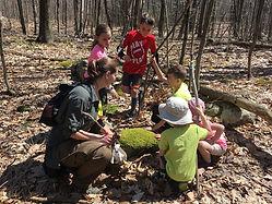 Amanda with kids in woods.jpg