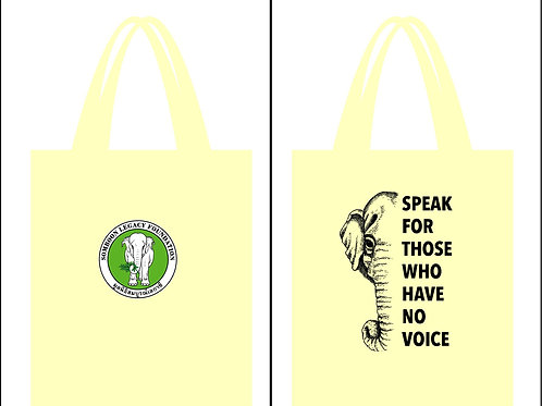 Canvas bag - Speak