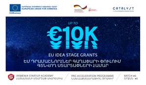 Idea Stage Grants for the Armenia Startup Academy Pre-accelerator Batch 6
