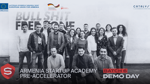 Armenia Startup Academy held a Virtual Demo Day for Pre-accelerator Batch 6