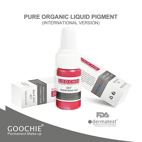 Goochie Pure Organic Pigments #307 Japenese Red