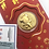 Thumbnail: Pig - 24K Gold Foil New Year Lucky Red Envelope-(Set of 5)