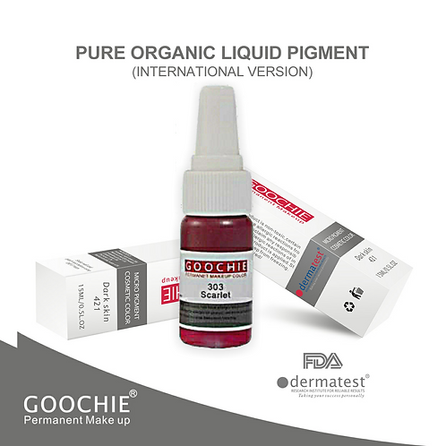 Goochie Pure Organic Pigments #303 Scarlet