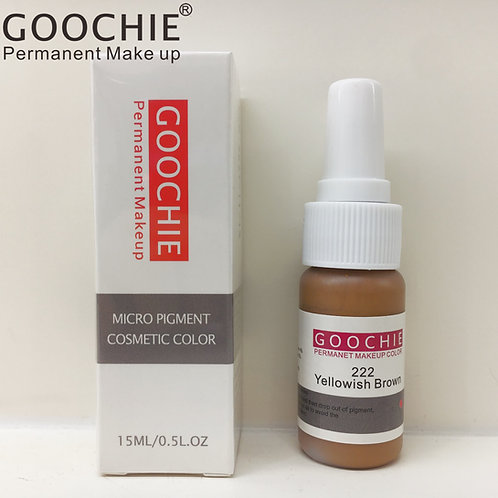 Goochie Pure Organic Pigments #222 Yellowish Brown