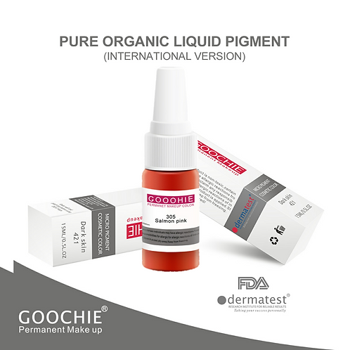 Goochie Pure Organic Pigments #305 Salmon Red