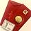 Thumbnail: 5pc Japanese Maneki Cat- 24K Gold Foil Lucky Red Money Envelope