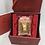 Thumbnail: Rabbit Omamori/ Amulet- 24K Au999 Gold Foil- w/ Chinese Herbal Medicine