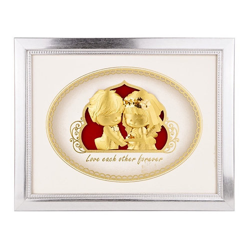 Style D- Cute Couple Wedding/ Engagement/ Marriage Frame Gift
