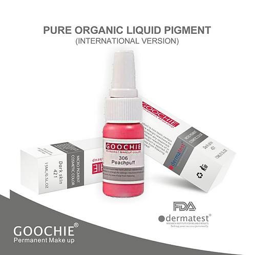 Goochie Pure Organic Pigments #306 Peach Puff