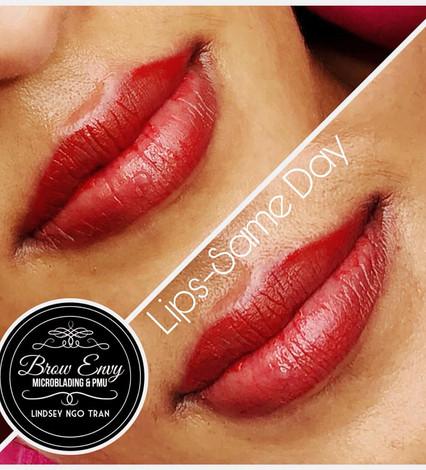 Full Lips Color Enhancement