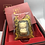 Thumbnail: Good Luck Good Fortune- Pig Omamori/ Amulet- 24K Gold  Foil- with Chinese Herb