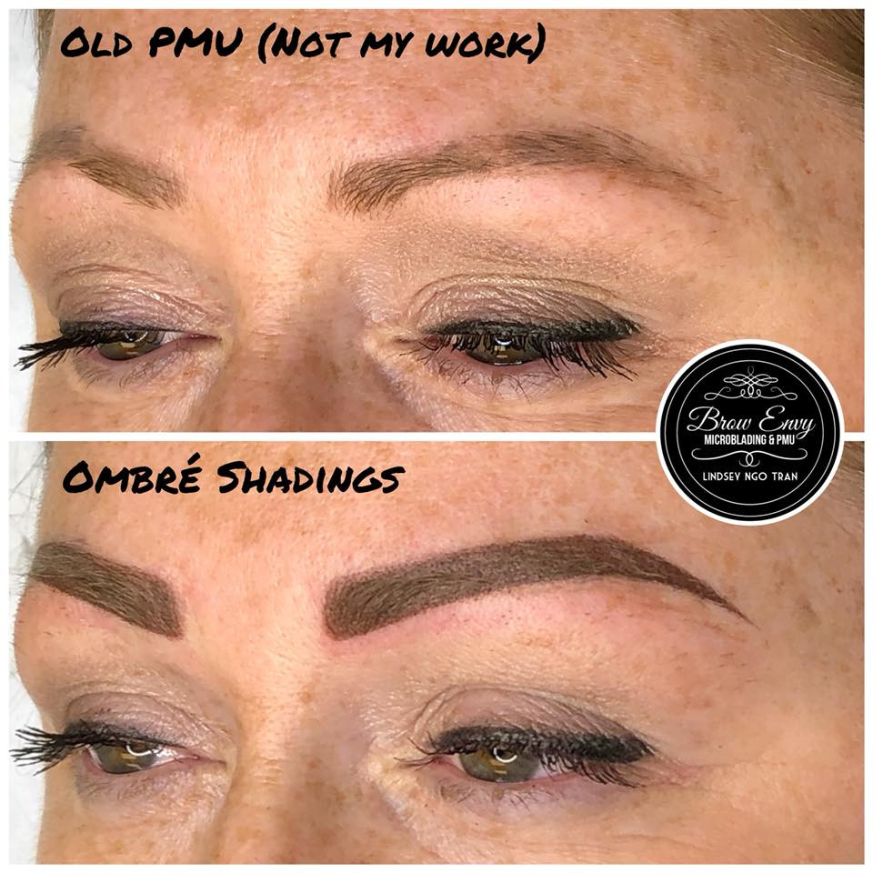 Ombre Shading with Correction