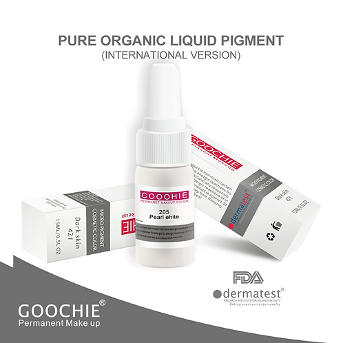 Goochie Pure Organic Pigments #205 Pear White