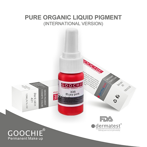 Goochie Pure Organic Pigments #335 Rosy Red