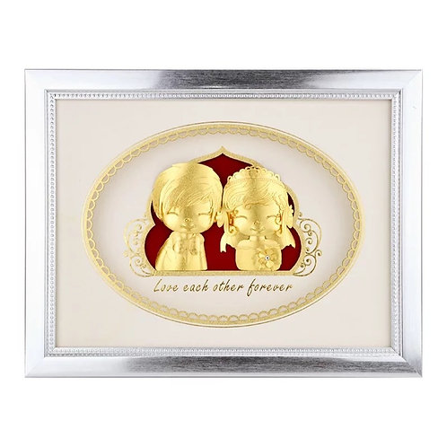 Style C- Cute Couple Wedding/ Engagement/ Marriage Frame Gift
