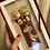 Thumbnail: 24K Gold Foil 3D Cute Couple Wedding Frame - Wedding/ Anniversary/ Valentine
