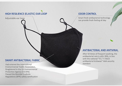 Reusable Face Mask - up to 50 Wash