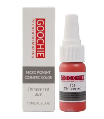 Goochie Pure Organic Pigments #308 Chinese Red
